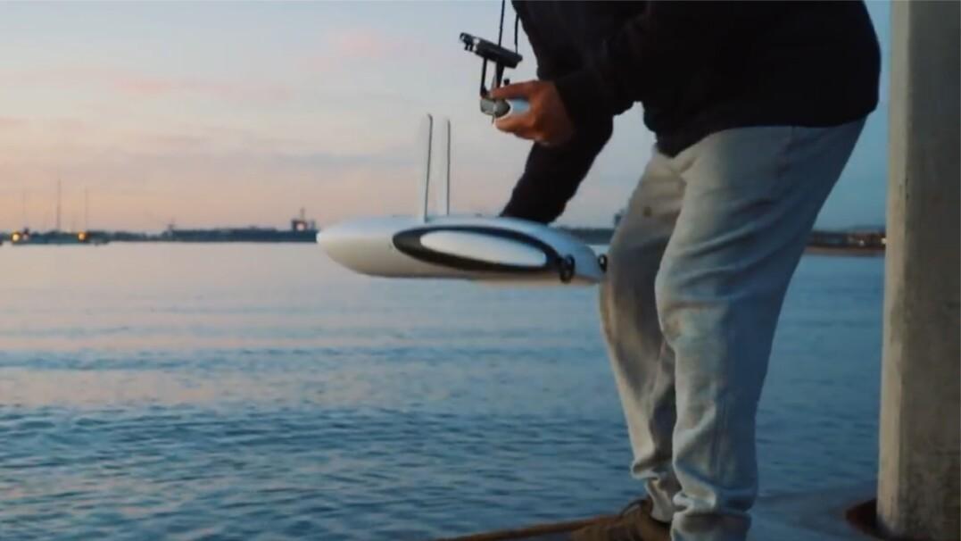 Dron, który pomoże w eksploracji podwodnych przestworzy