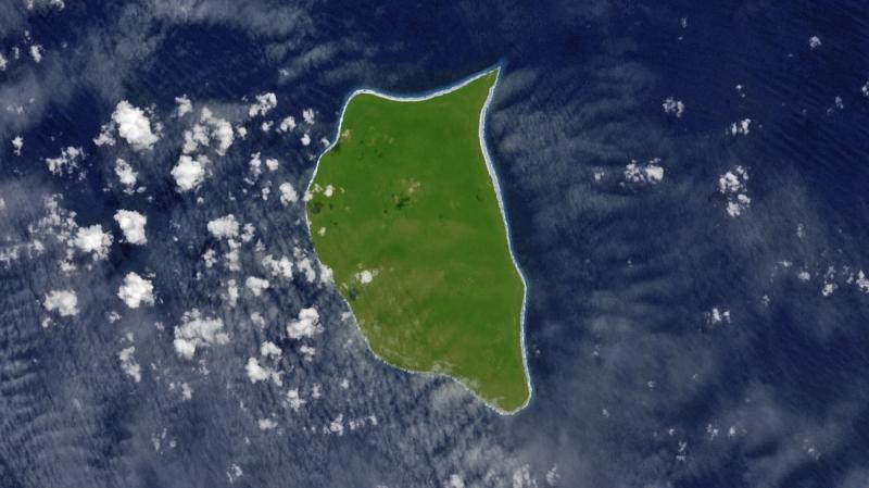 Zielona wyspa na Pacyfiku
