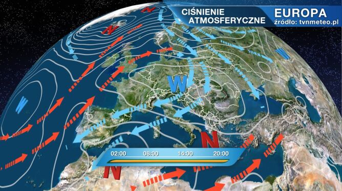 Płynie do nas zimne arktyczne powietrze