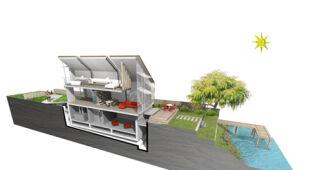 Projekt niezwykłego domu (Baca Architects)