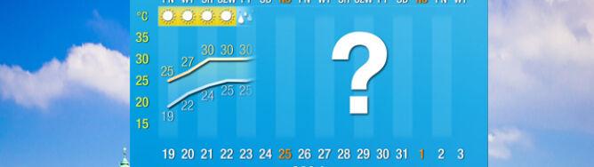 Pogoda na 16 dni: krok po kroku do upałów