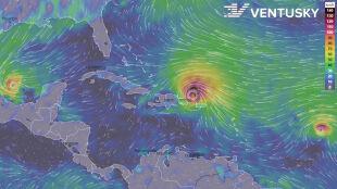 """Trzy żywioły, w tym zabójcza """"piątka"""". Takiego huraganu jeszcze nie było"""