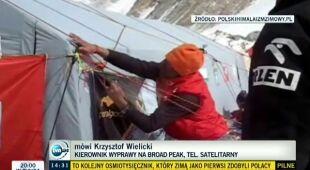 Polacy zdobyli Broad Peak (TVN24)