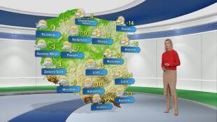 Prognoza pogody na poniedziałek 18.01