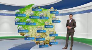 Prognoza pogody na poniedziałek 04.01